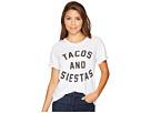 The Original Retro Brand Tacos and Siestas Slub Rolled Short Sleeve Tee