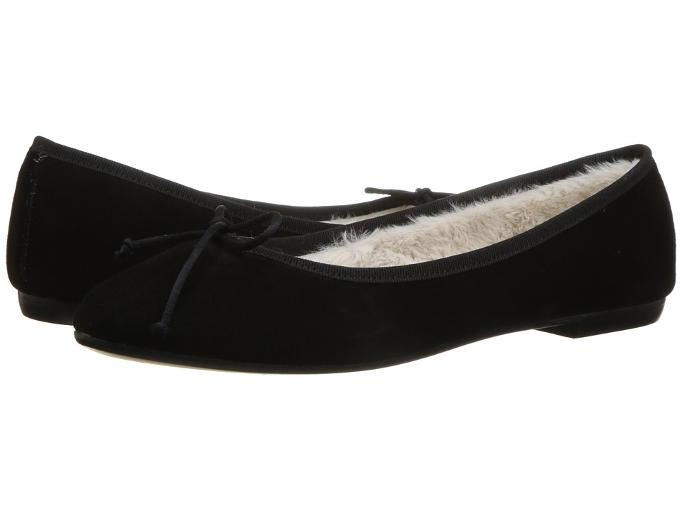 Summit by White Mountain Kendrick (Black Suede/Fur) Women