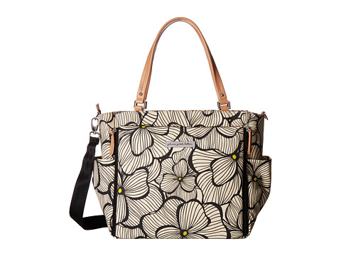 petunia pickle bottom Glazed City Carryall - Bouquets in Bordeaux