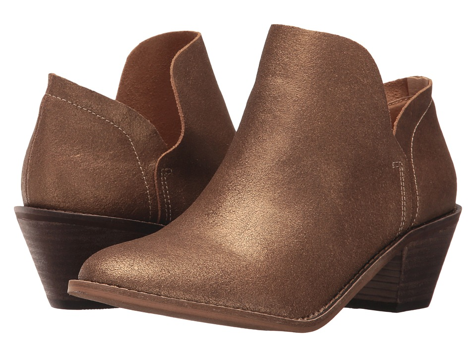 Kelsi Dagger Brooklyn - Kenmare Ankle Boot (Bronze) Womens Shoes