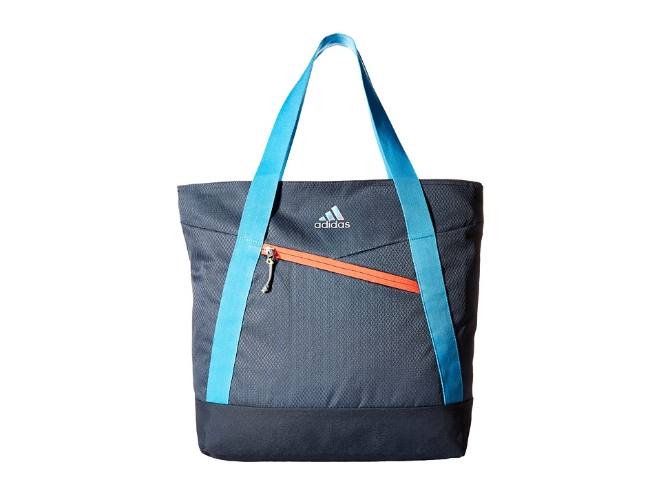 adidas - Squad III Tote (Deepest Space/Bright Cyan/Flash Red/Frozen Yellow) Tote Handbags