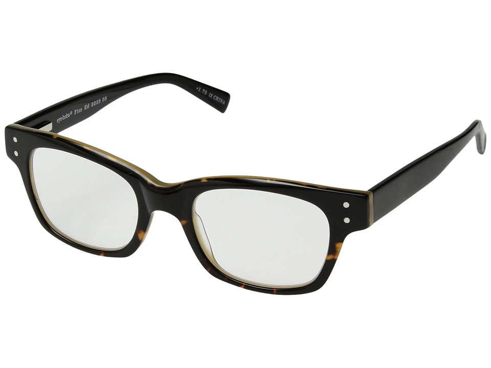 eyebobs - Fizz ED (Demi Torte/Black) Reading Glasses Sunglasses