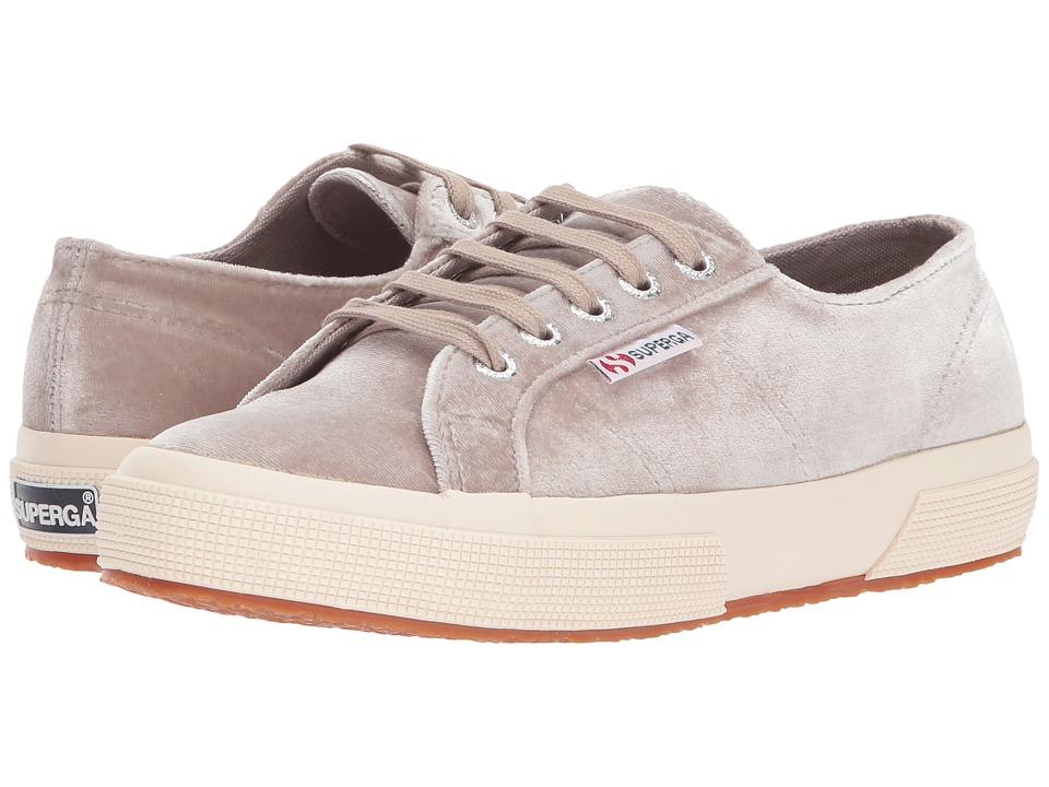 Superga 2750 Velvetjpw (Grey Velvet) Women