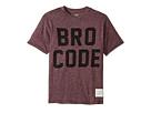 The Original Retro Brand Kids Bro Code Short Sleeve Mock Twist Tee (Big Kids)