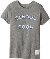 The Original Retro Brand Kids - School Is Cool Tri-Blend Short Sleeve Tee (Little Kids/Big Kids)