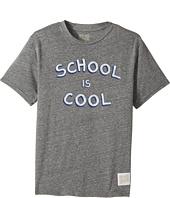 The Original Retro Brand Kids - School Is Cool Tri-Blend Short Sleeve Tee (Big Kids)