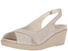 Crocs Leigh Ann Shimmer Slingback Wedge