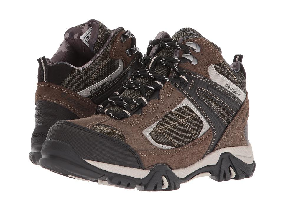 Hi-Tec Kids - Altitude Lite II WP (Toddler/Little Kid/Big Kid) (Dark Taupe/Olive Night/Warm Grey) Boys Shoes