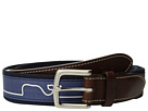 Vineyard Vines Whaleline Match Canvas Club Belt