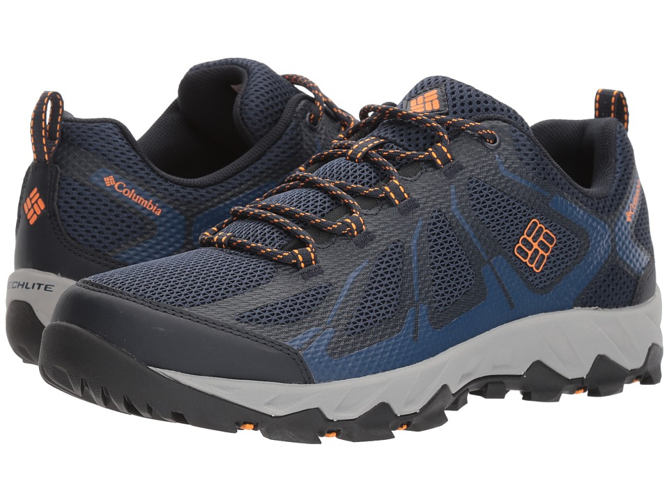 Columbia - Peakfreak XCRSN II Xcel Low (Collegiate Navy/Orange Blast) Mens Shoes