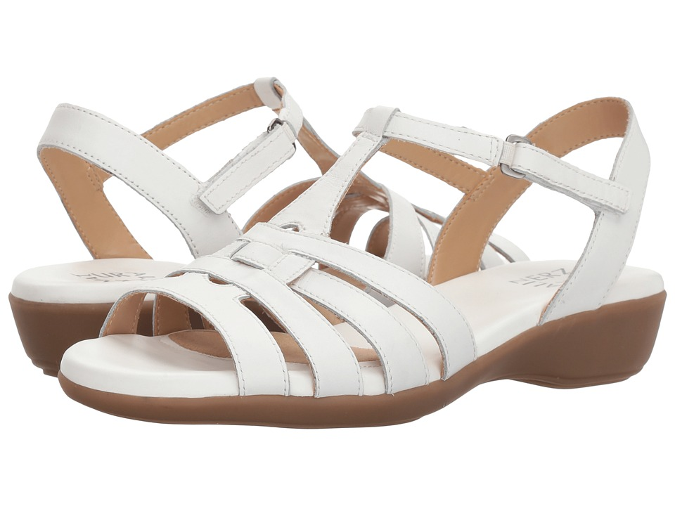 Naturalizer - Nanci (White Leather) Women's Sandals