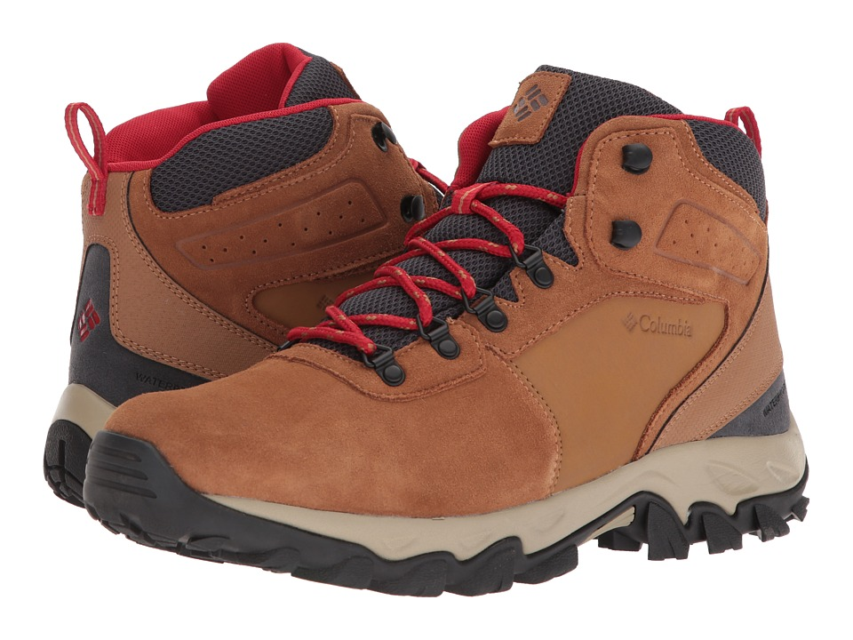 Columbia Newton Ridge Plus II Suede WP (Elk/Mountain Red)...