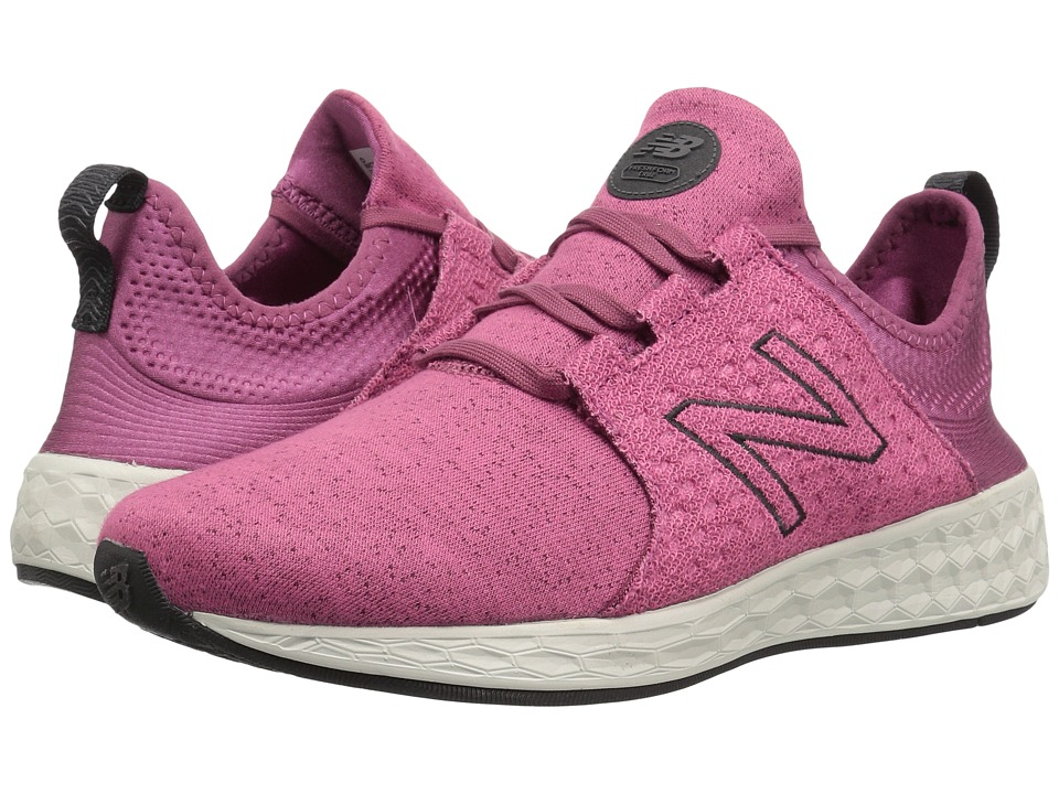 New Balance Fresh Foam Cruz v1 (Dragon Fruit/Sea Salt) Women's Running Shoes