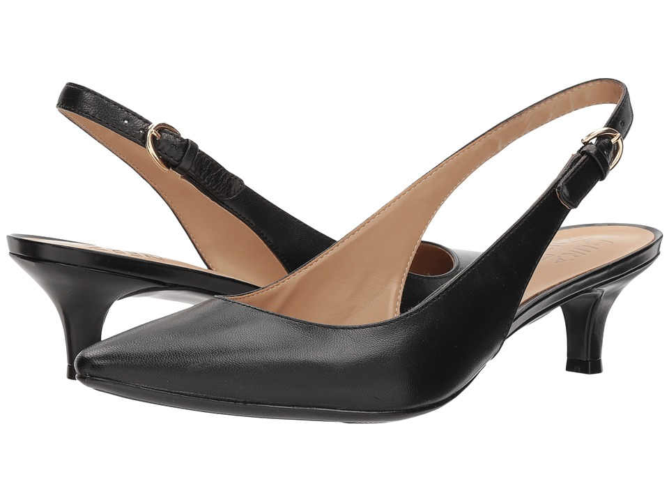 Naturalizer Peyton (Black Leather) 1-2 inch heel Shoes