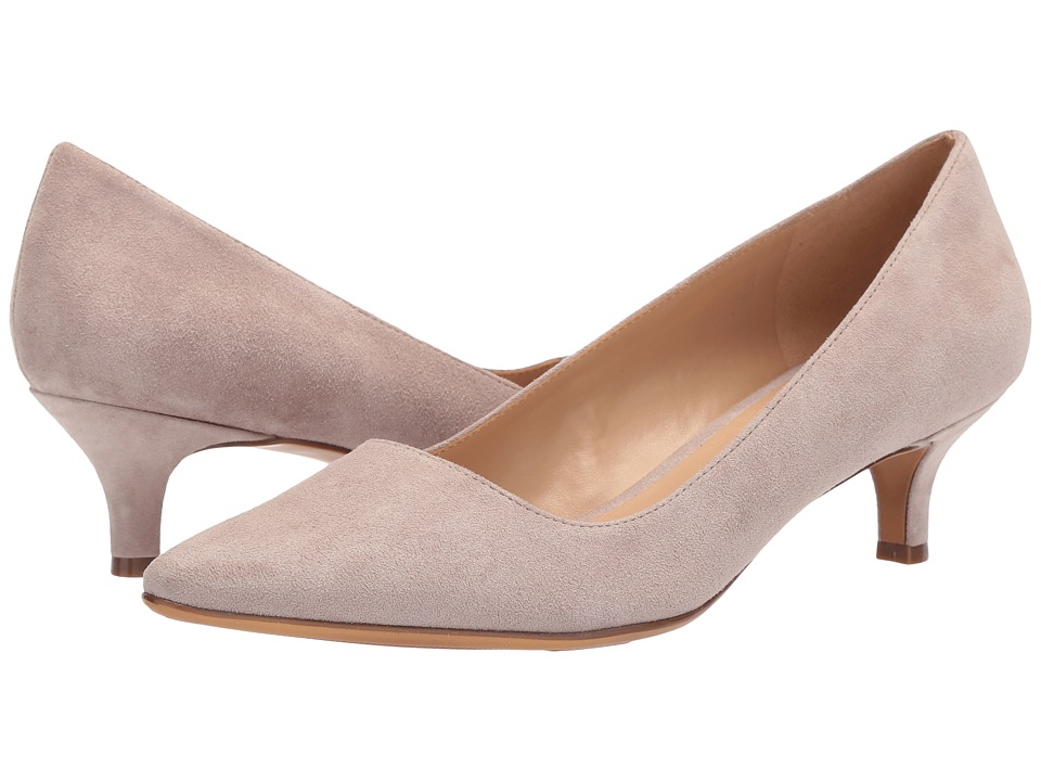 Naturalizer Pippa (Turtle Dove Suede) 1-2 inch heel Shoes