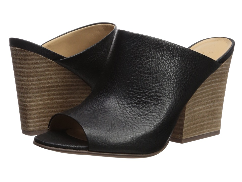 Naturalizer Sloan (Black Pebble Leather) High Heels