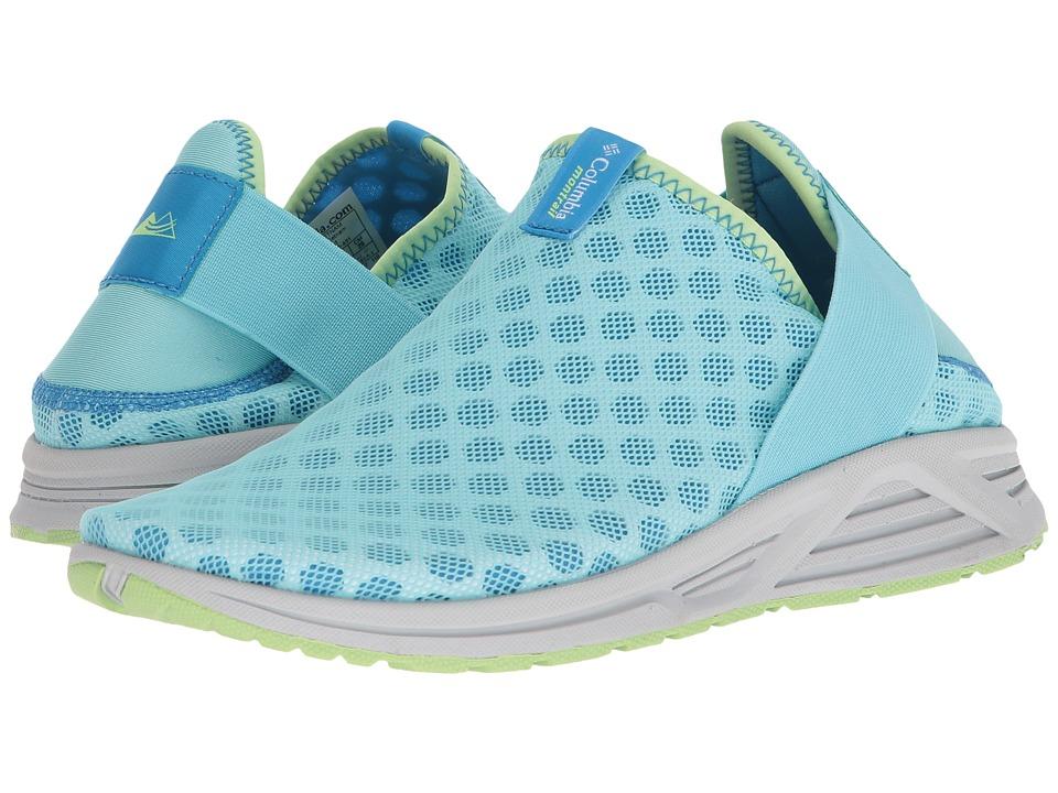 Columbia - Molokini Slip (Coastal Blue/Jade Lime) Womens Shoes