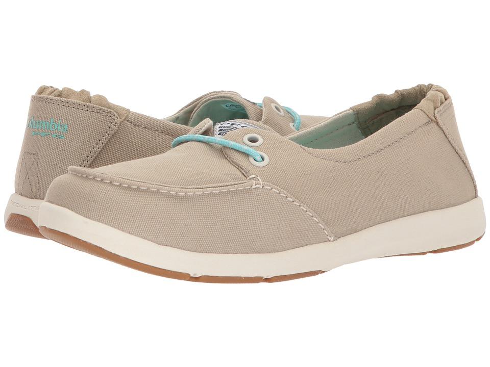 Columbia Delray PFG (British Tan/Gulf Stream) Women's Shoes