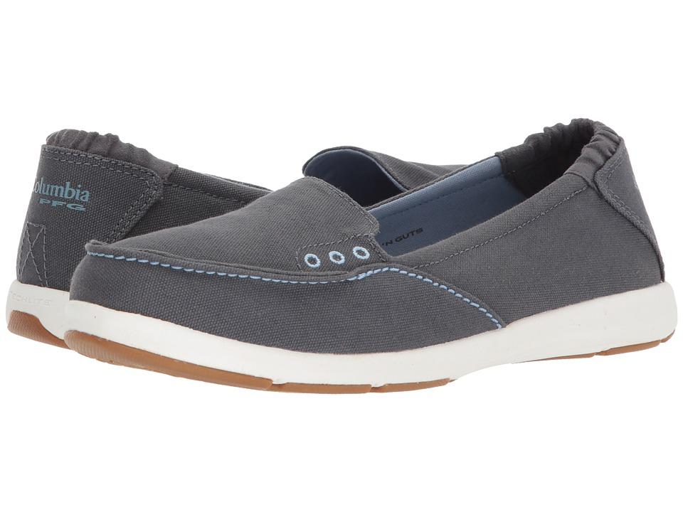Columbia Delray Slip PFG (Graphite/Dark Mirage) Women's Shoes
