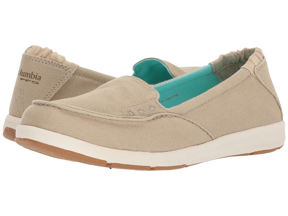 Columbia Delray Slip PFG (Ancient Fossil/Gulf Stream) Women's Shoes