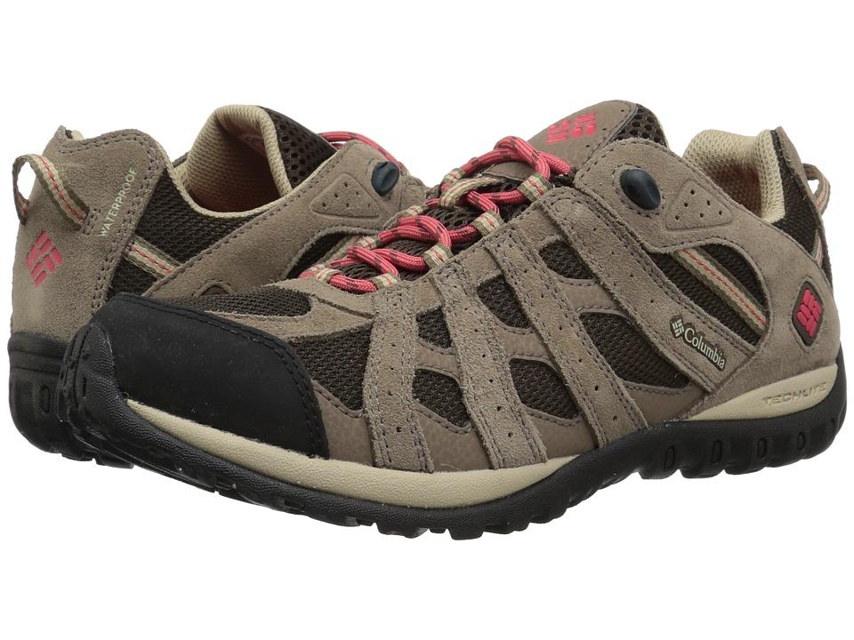 Columbia Redmondtm Waterproof (Cordovan/Sunset Red) Women's Shoes
