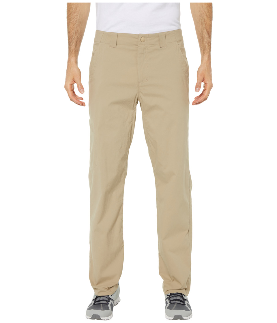 Royal Robbins Bug Barrier Everyday Traveler Pants (Khaki) Men