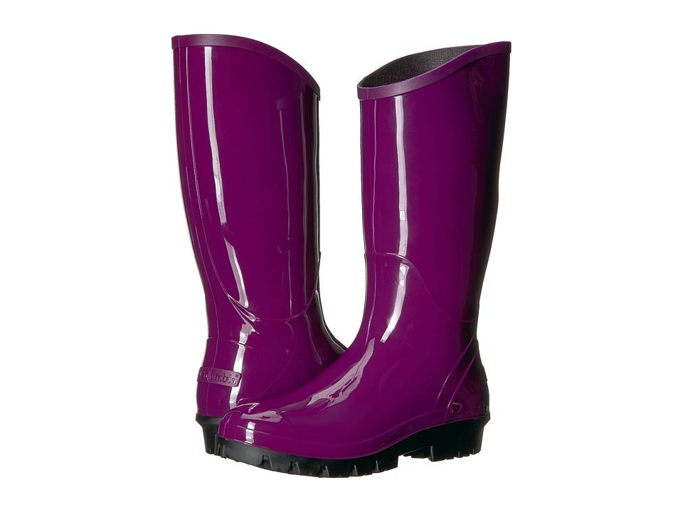 Columbia Rainey Tall (Dark Raspberry/Black) Women's Rain Boots