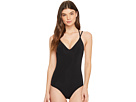 JETS by Jessika Allen Parallels Tank One-Piece Swimsuit