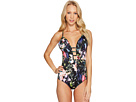 JETS by Jessika Allen - Arcadia Plunged One-Piece Swimsuit