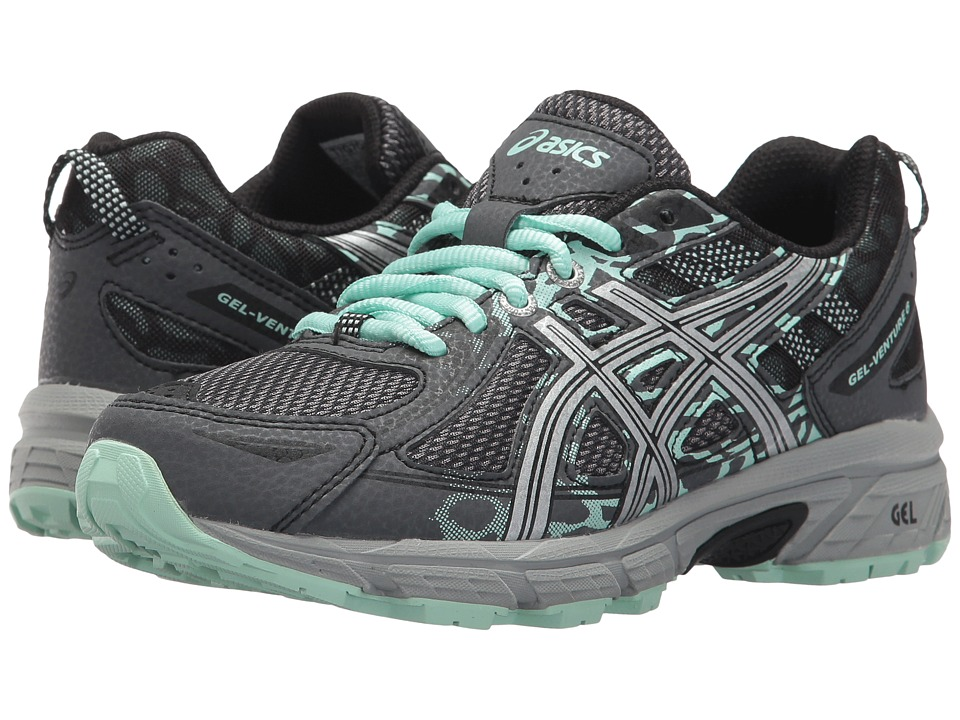ASICS GEL-Venture 6 (Castlerock/Silver/Honeydew) Women's Running Shoes
