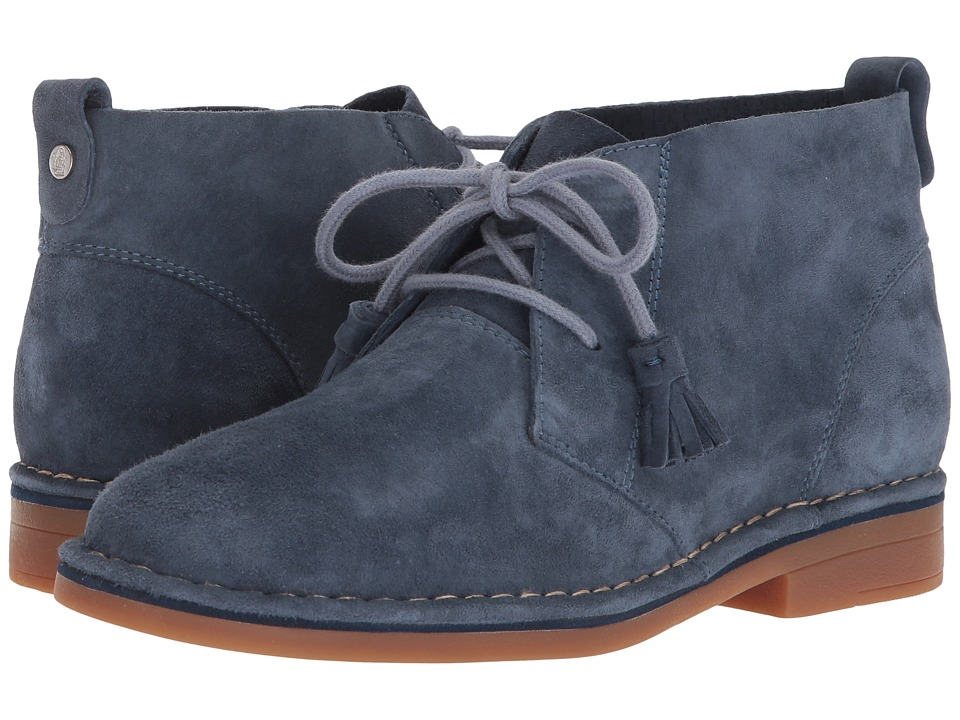 Hush Puppies Cyra Catelyn (Vintage Indigo Suede) Women's Lace-up Boots