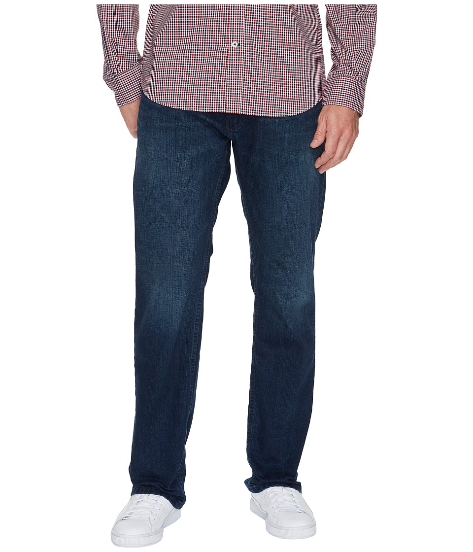 Nautica Relaxed Fit Stretch in Pure Deep Bay Wash (Pure Deep Bay Wash) Men