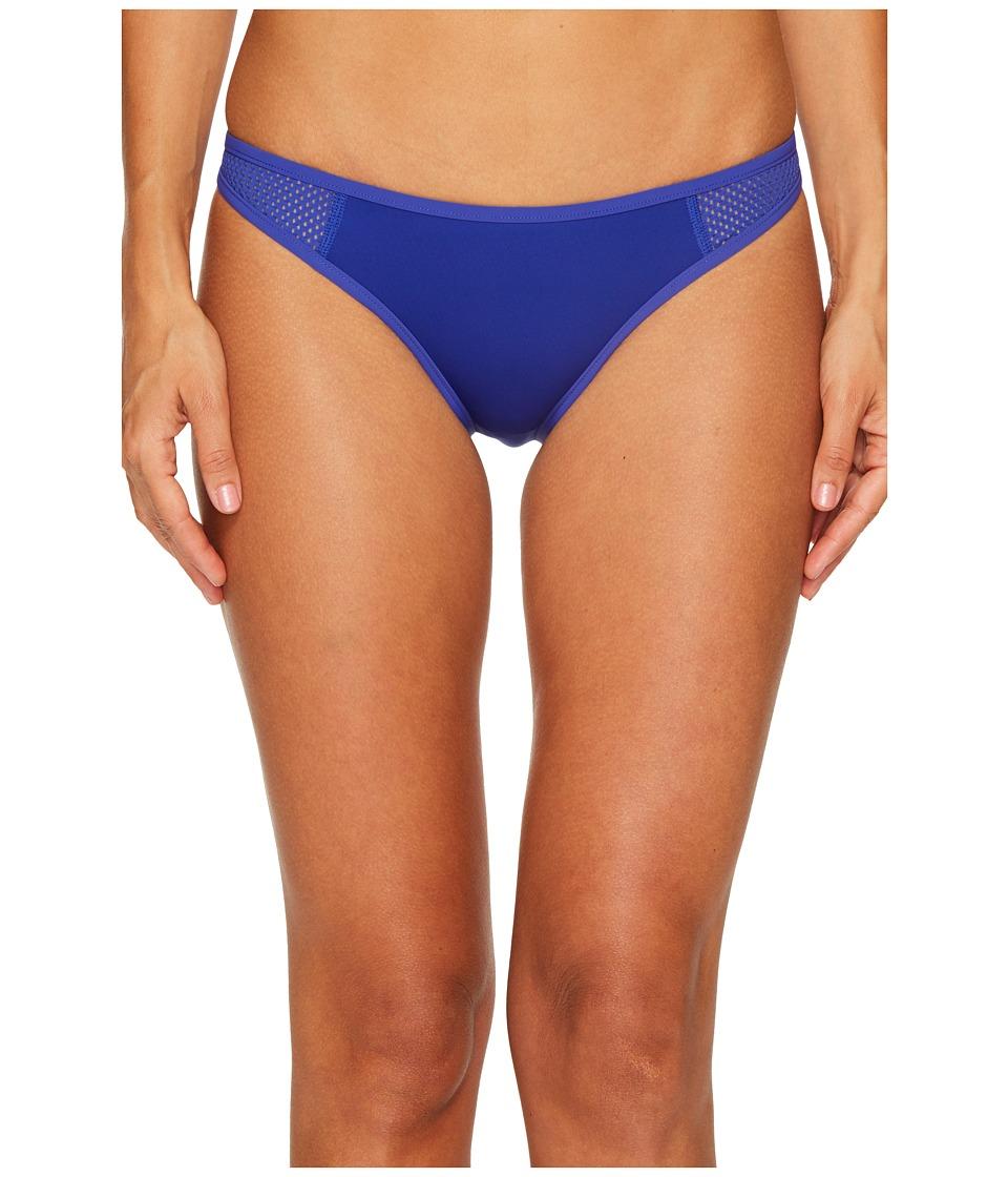 Stella McCartney Neoprene Mesh Classic Bikini Bottom (Cobalt)