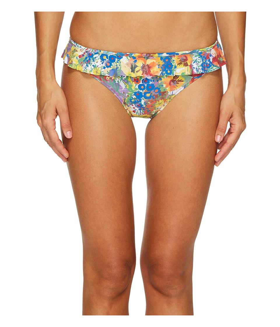 Stella McCartney Iconic Prints Classic Bikini Bottom (Floral Print) Women