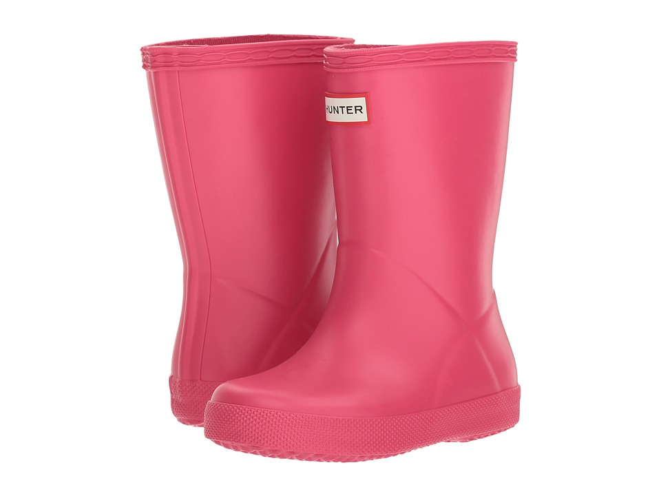 Hunter Kids - Original Kids First Classic Rain Boot (Toddler/Little Kid) (Bright Pink) Kids Shoes