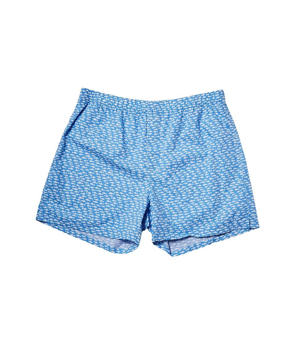 Vineyard Vines Go Fish Boxer Shorts (Dockside Blue) Men