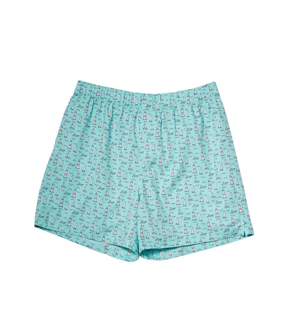 Vineyard Vines Montauk Boxer Shorts (Blue Fin) Men