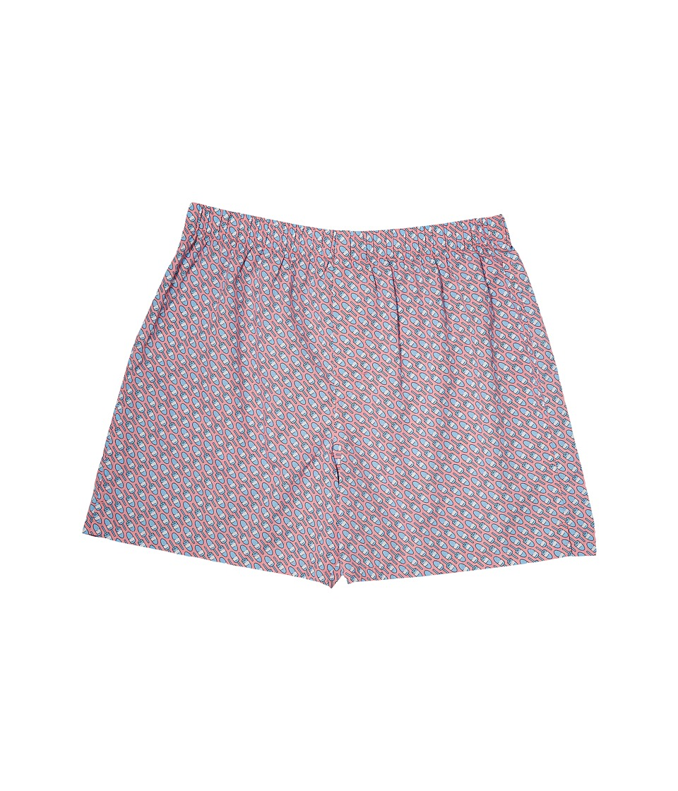 Vineyard Vines Lobster Bouy Boxer Shorts (Dawn Pink) Men