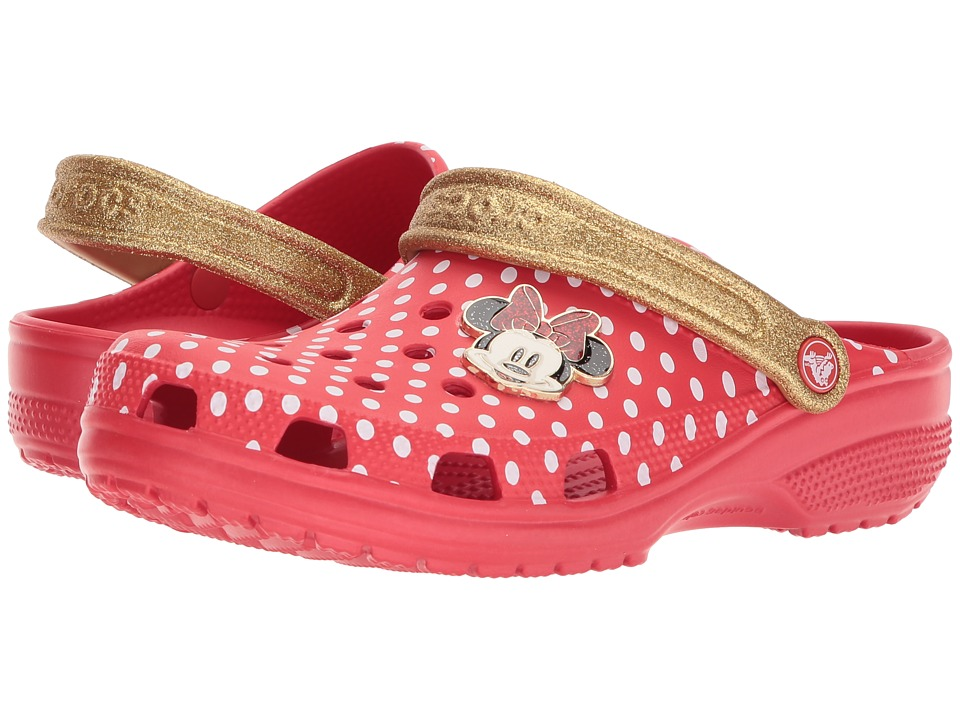 Crocs - Classic Minnie Clog (Red) Shoes