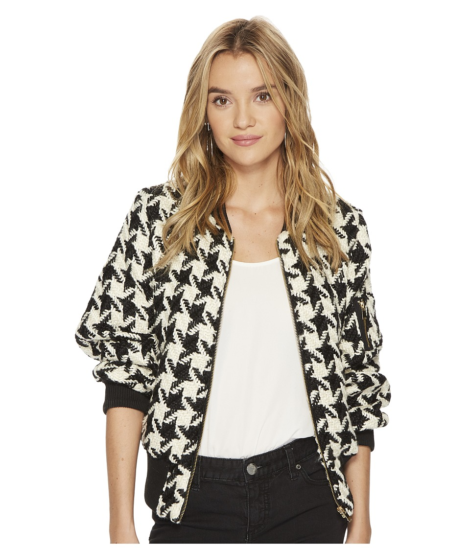 Bishop + Young - Houndstooth Bomber (Assorted) Womens Coat