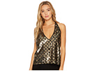Bishop + Young Daniela Sequin Halter
