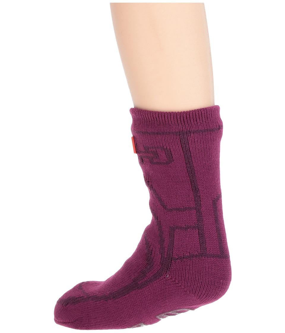 Hunter Kids - Original Boot Slipper Socks (Toddler/Little Kid/Big Kid) (Violet) Kids Shoes