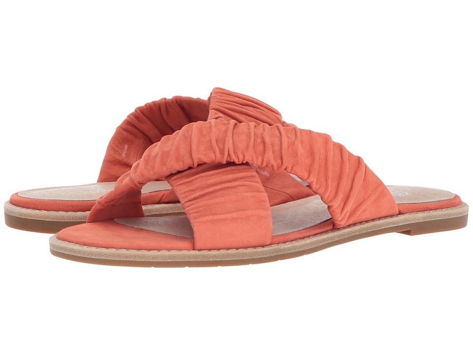 Eileen Fisher - Cross Flat (Perismmon Tumbled Nubuck) Womens Sandals