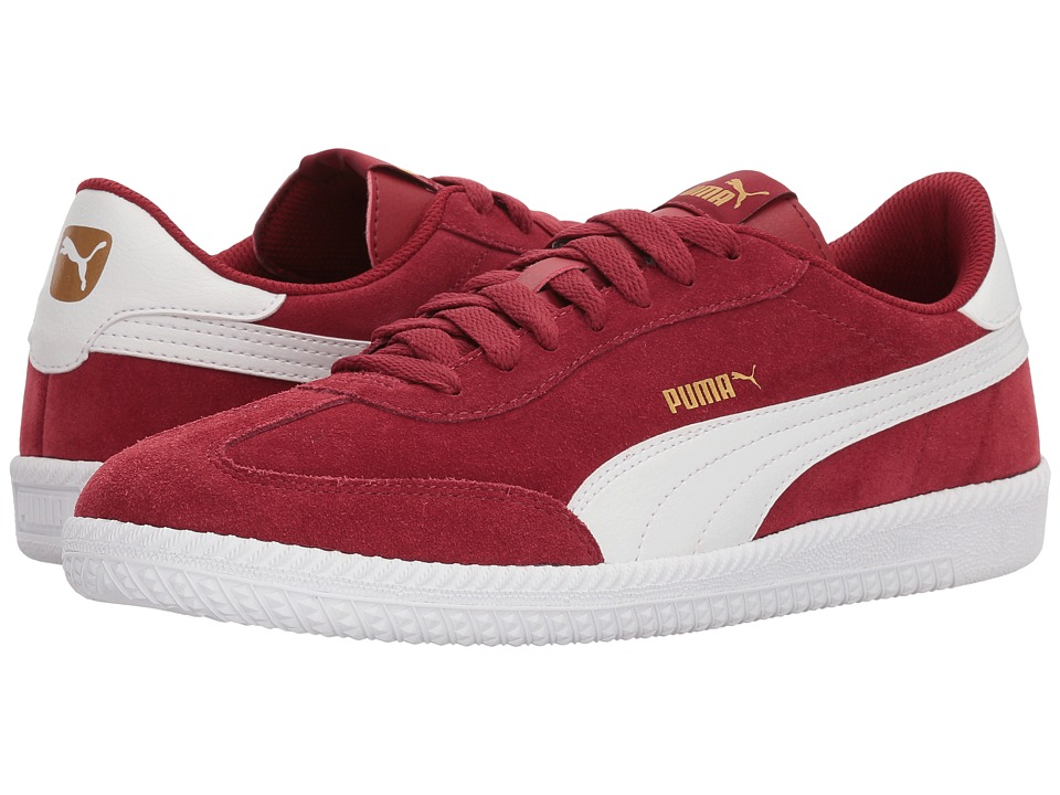 Puma Astro Cup (Red Dahlia/Puma White) Men's Soccer Shoes