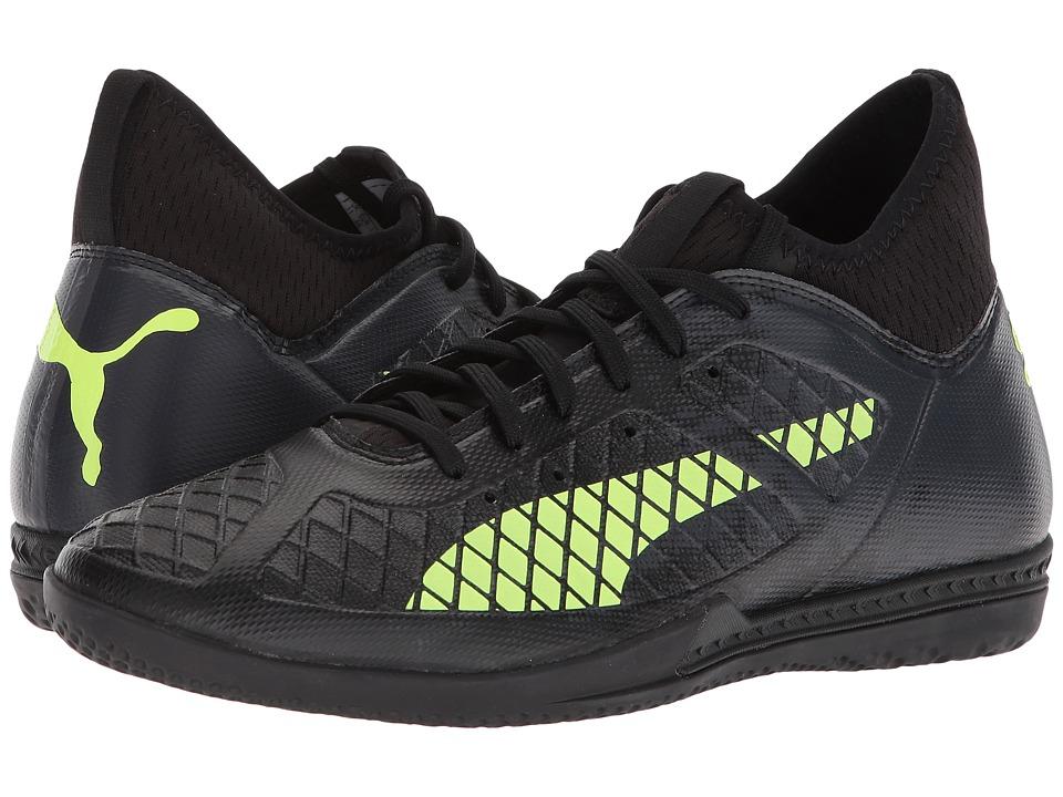 PUMA - Future 18.3 IT (Puma Black/Fizzy Yellow/Asphalt) Mens Soccer Shoes
