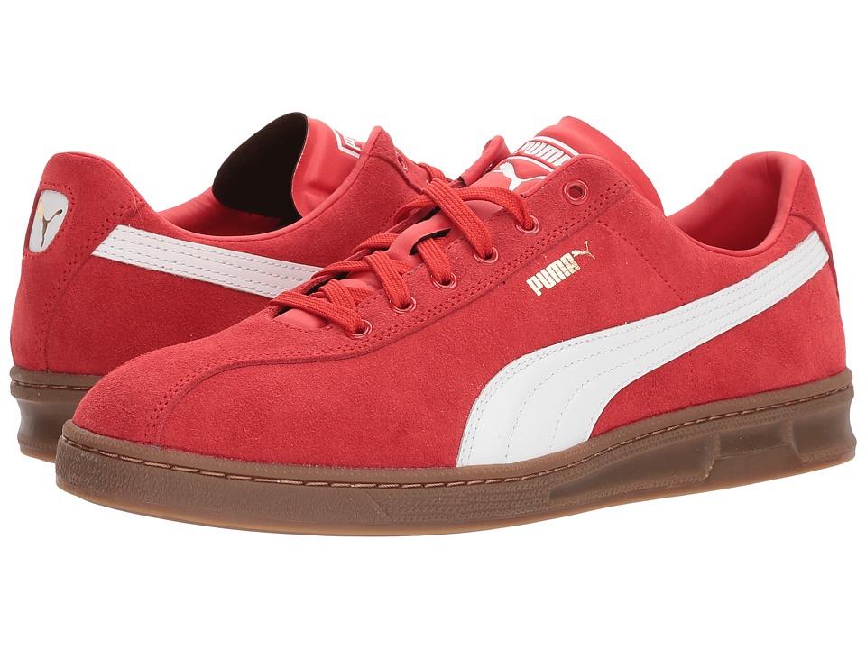 Puma Tk Indoor Heritage (High Risk Red) Men's Soccer Shoes