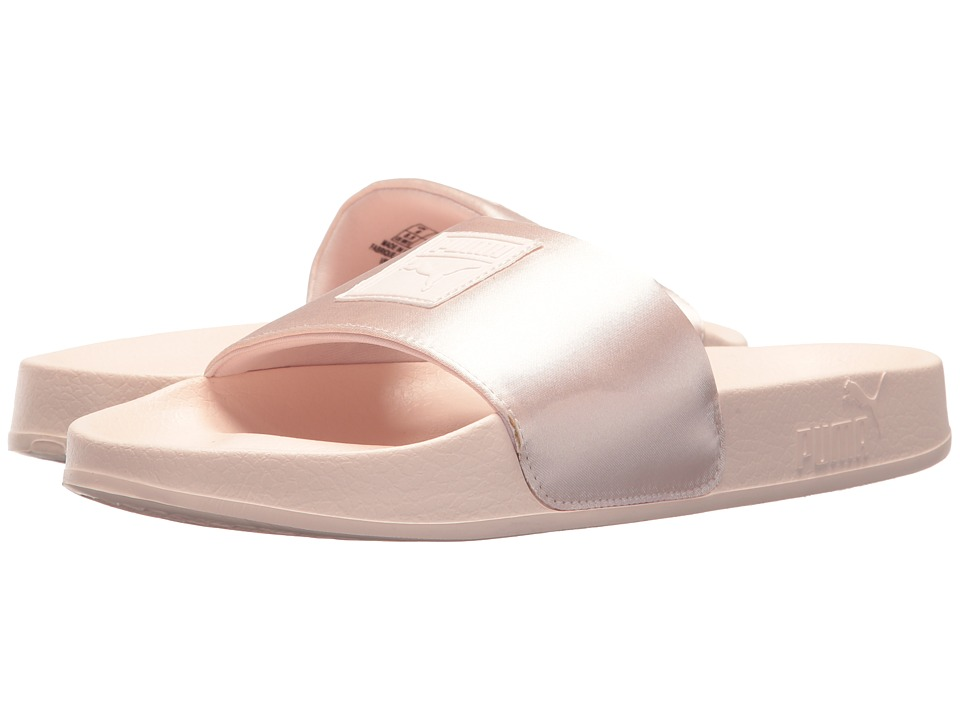 PUMA - Leadcat Satin (Pearl/Pearl) Women's Sandals