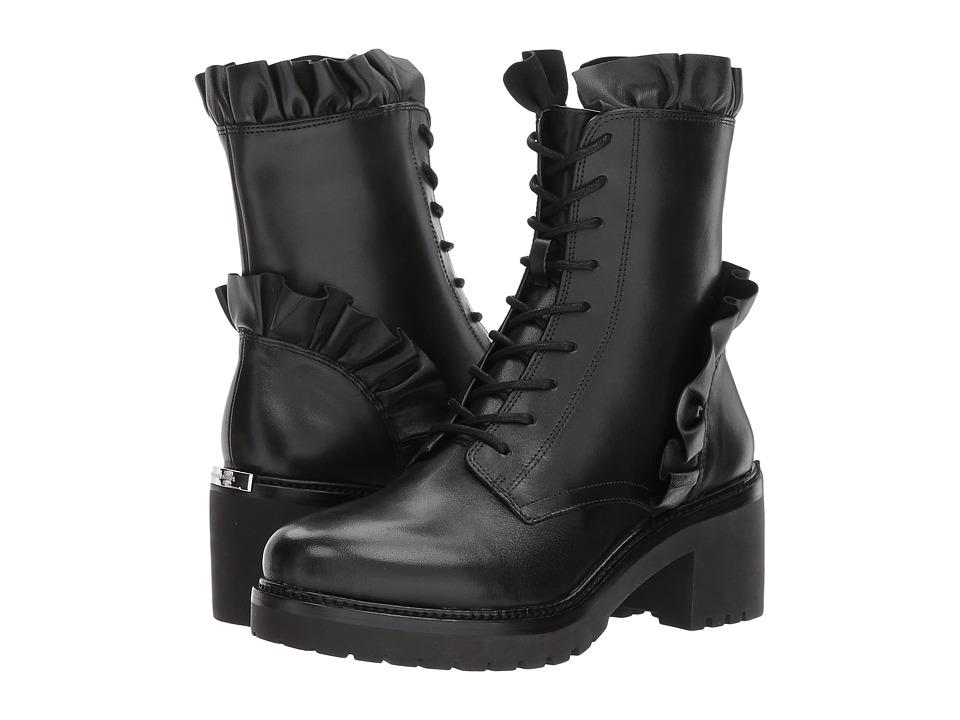 Michael Kors Bella Bootie (Black Vachetta/Nappa) Women's ...