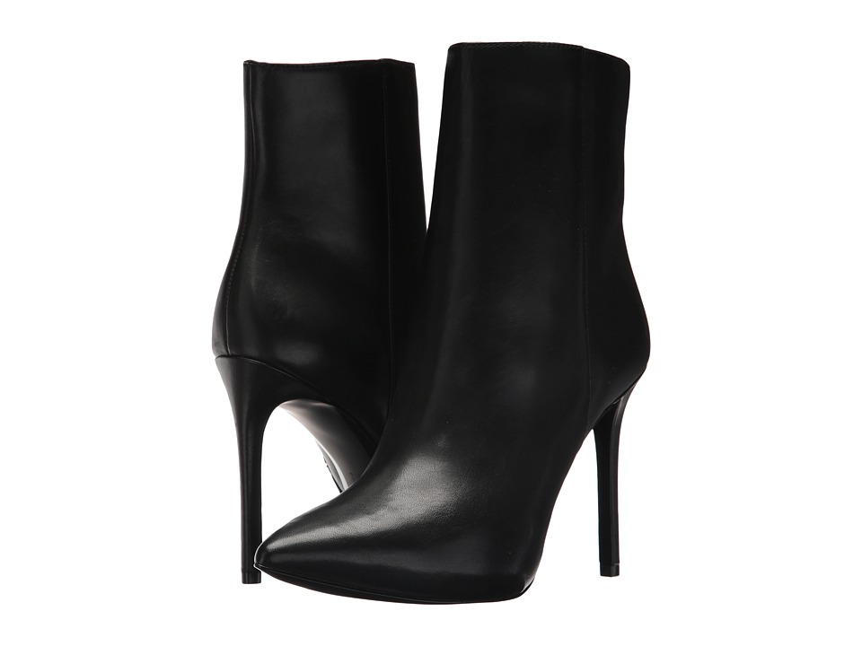 MICHAEL Michael Kors Leona Bootie (Black Smooth Calf) Women