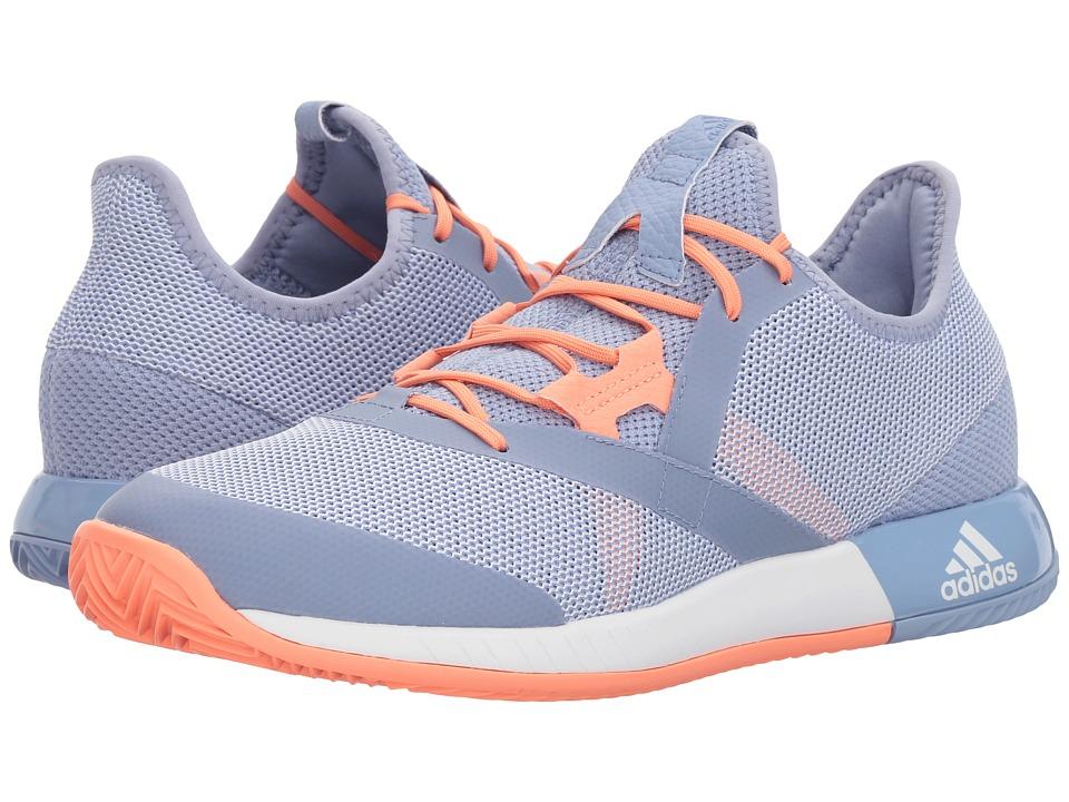 adidas adizero Defiant Bounce (Chalk Blue/White/Chalk Coral) Women